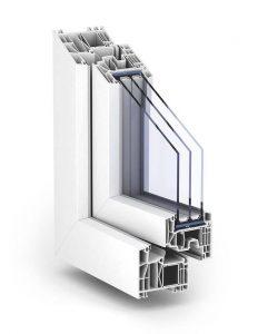 Plastové okno TROCAL 88